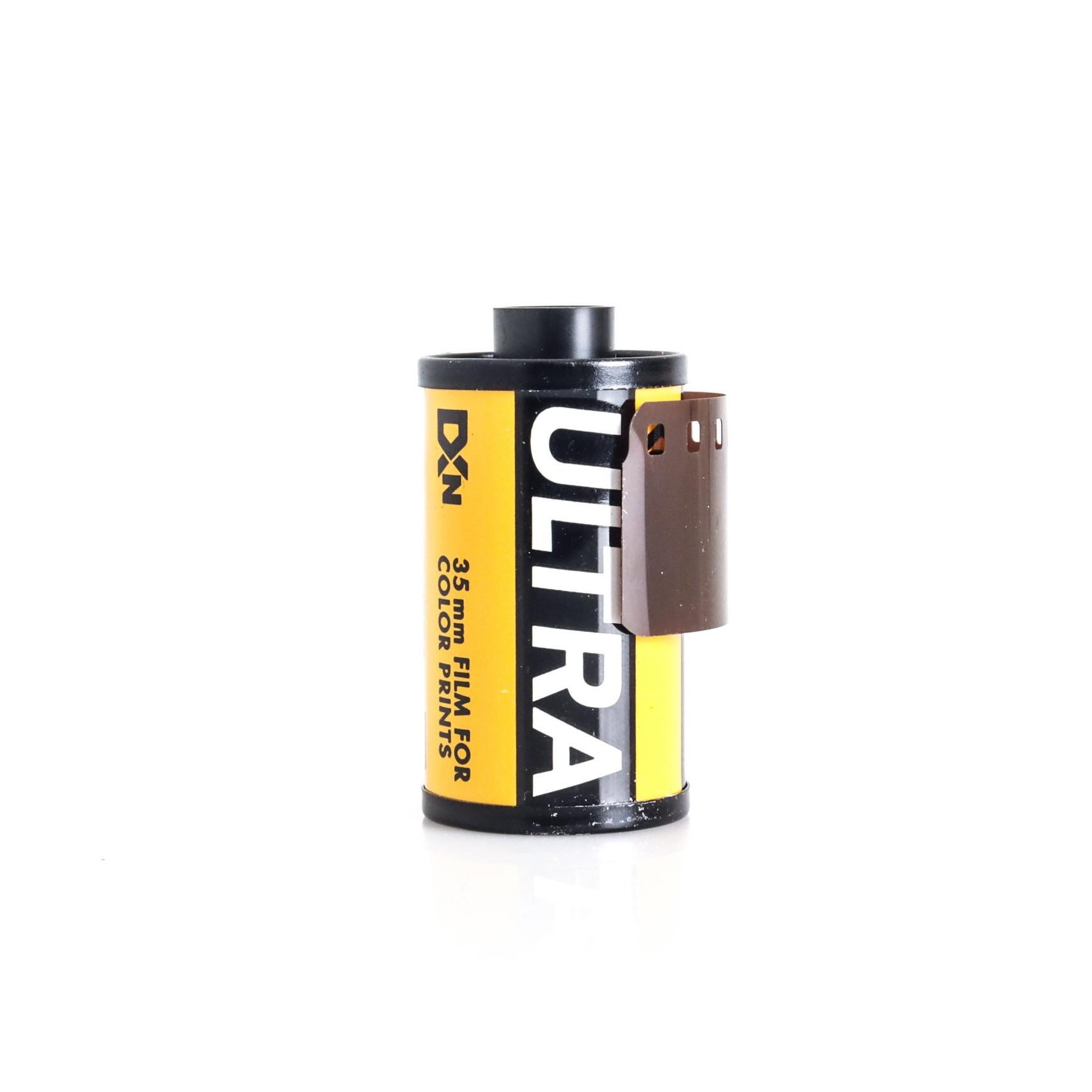 Expired Kodak Ultra 35mm 36 Exposure ISO 400 Colour Film
