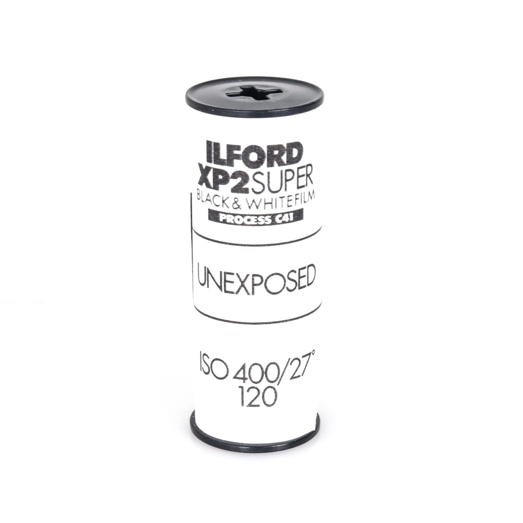 Expired Ilford XP2 Super Black and White 120 Medium Format Film