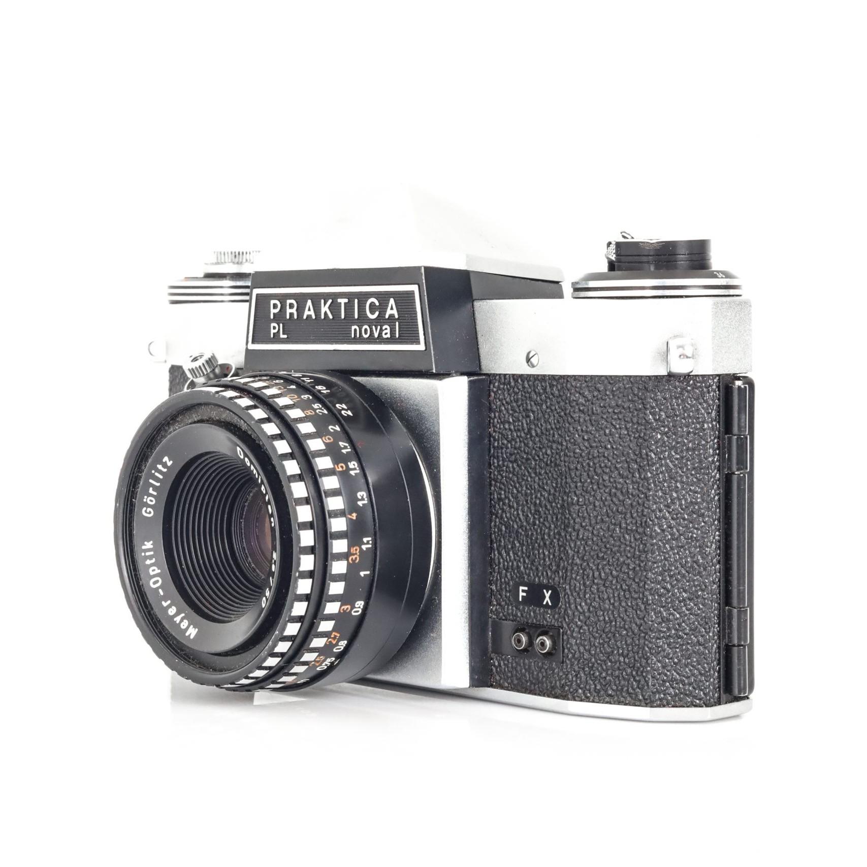 Brilliant 1970s Praktica PL Nova I 35mm Film Camera with Faulty Domiplan F2.8