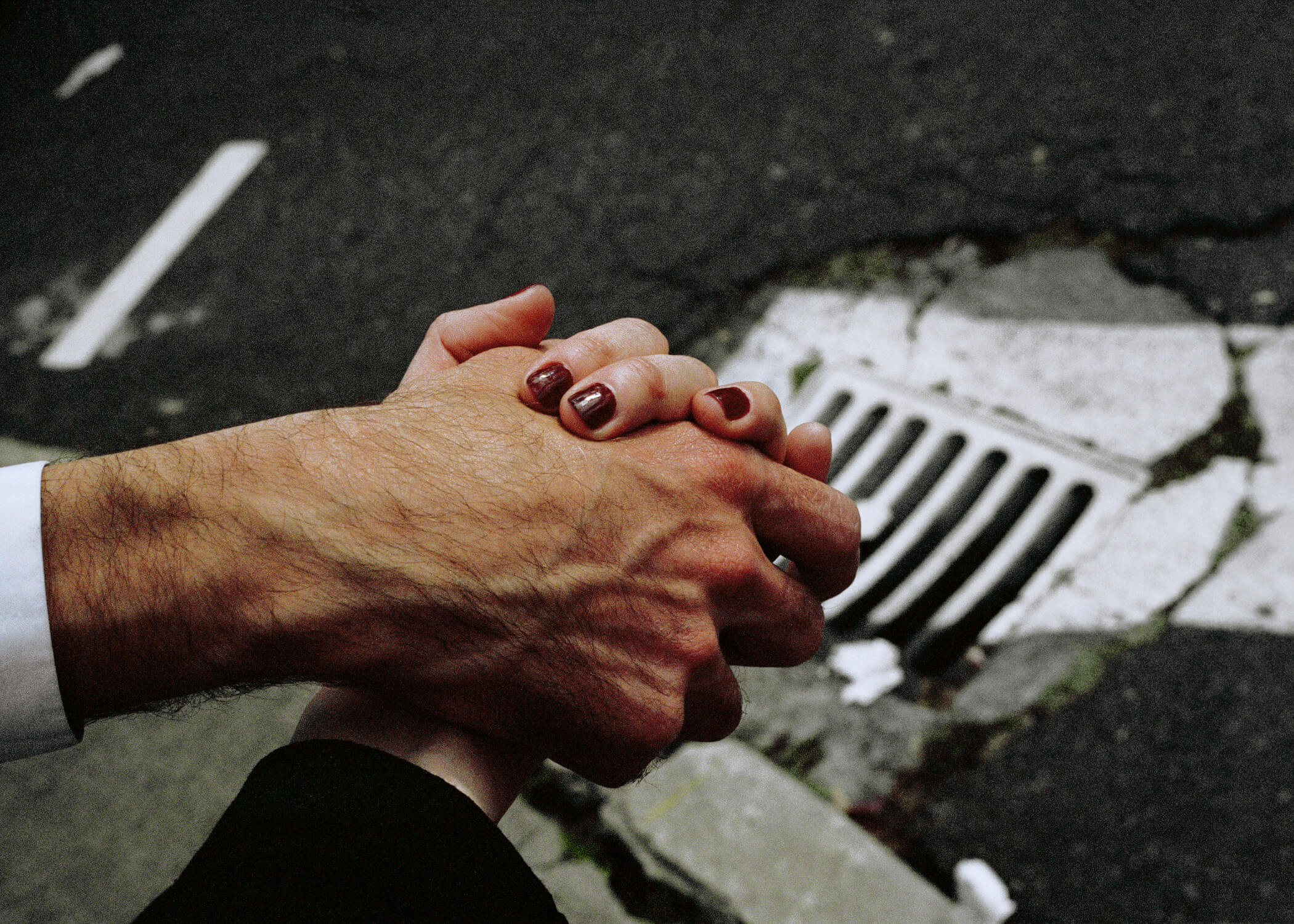 Skaidrė Rudokaitė - Ambivalence people holding hands the south west collective of photography