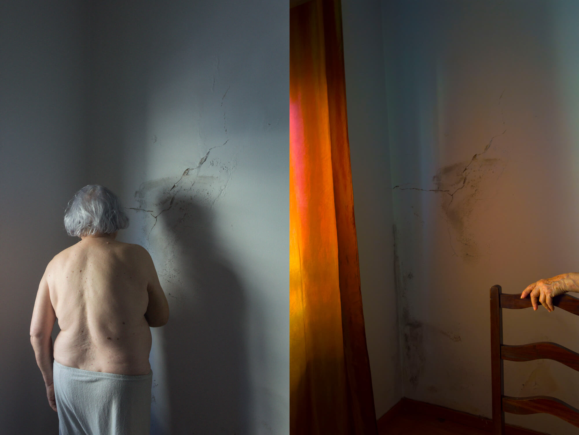Beatriz Temudo - Olinda the south west collective old women sat naked