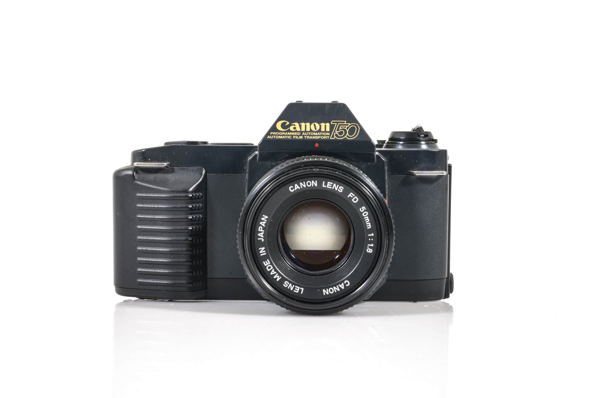 Canon T50 35mm Film Camera + 50mm Canon F1.4 Auto Lens the south west collective of photography