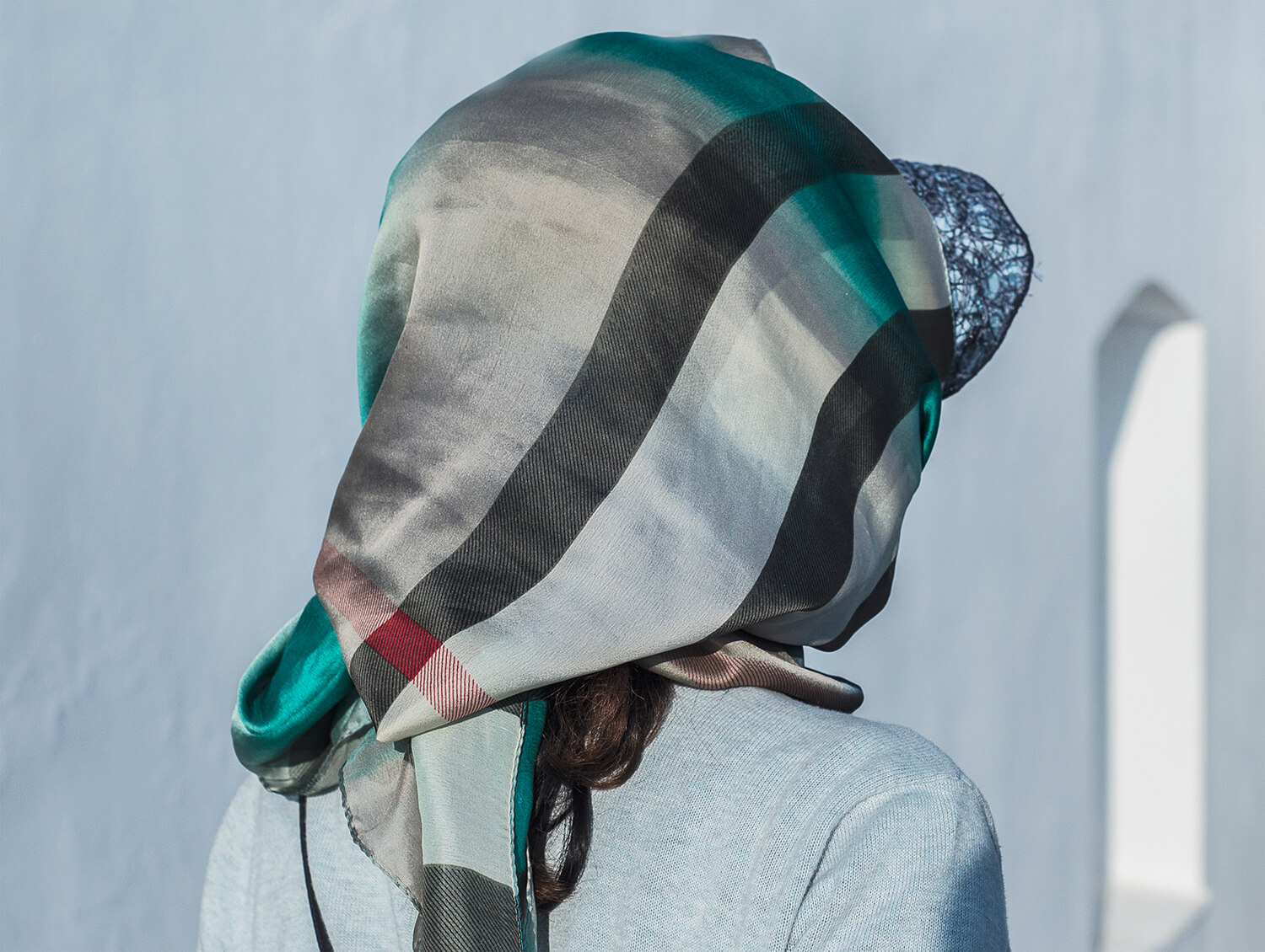 Anargyros Drolapas – Lernaean Hydra the south west collective of photography women with scarf on her head