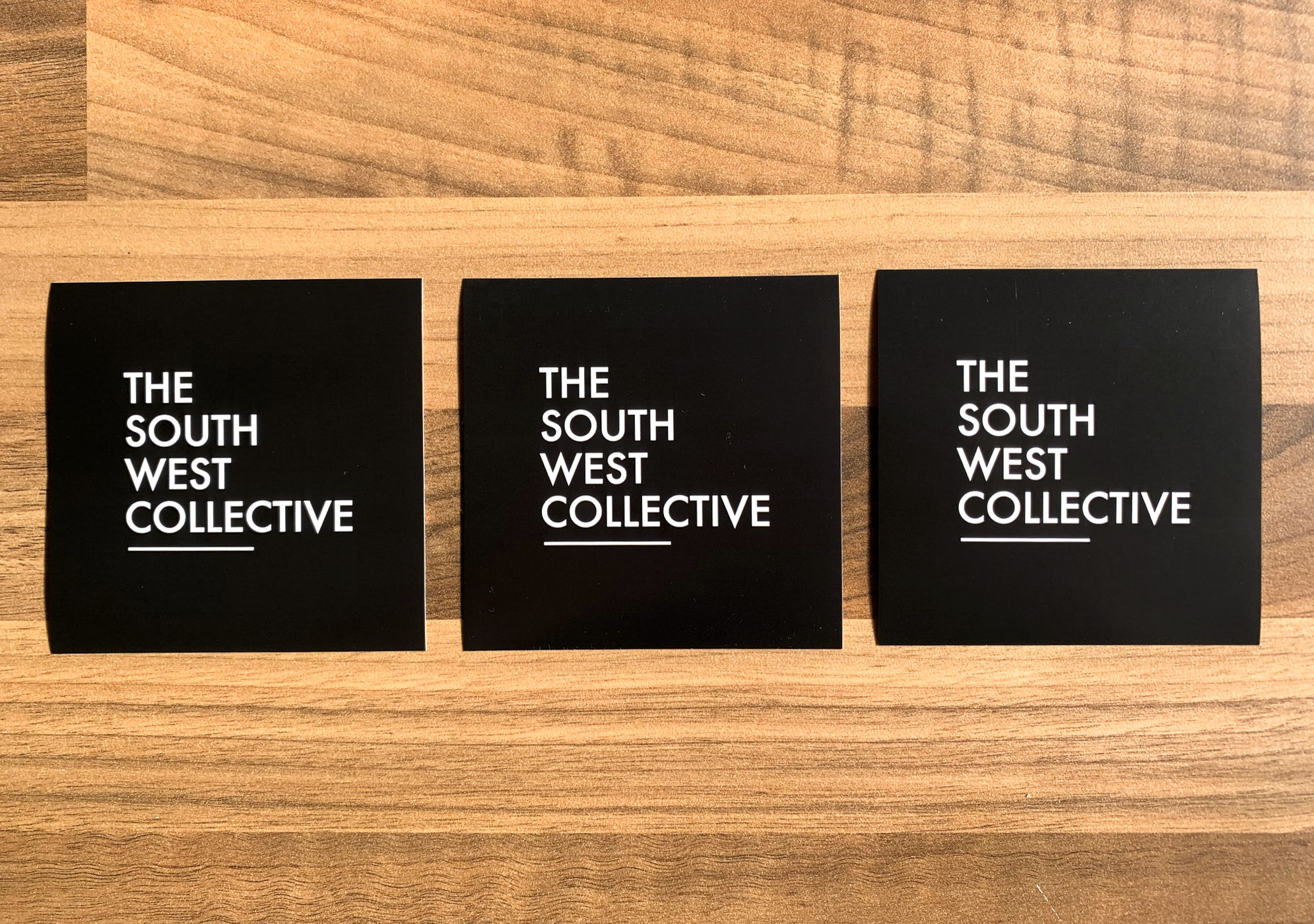 The South West Collective 2020 Sticker (Black)