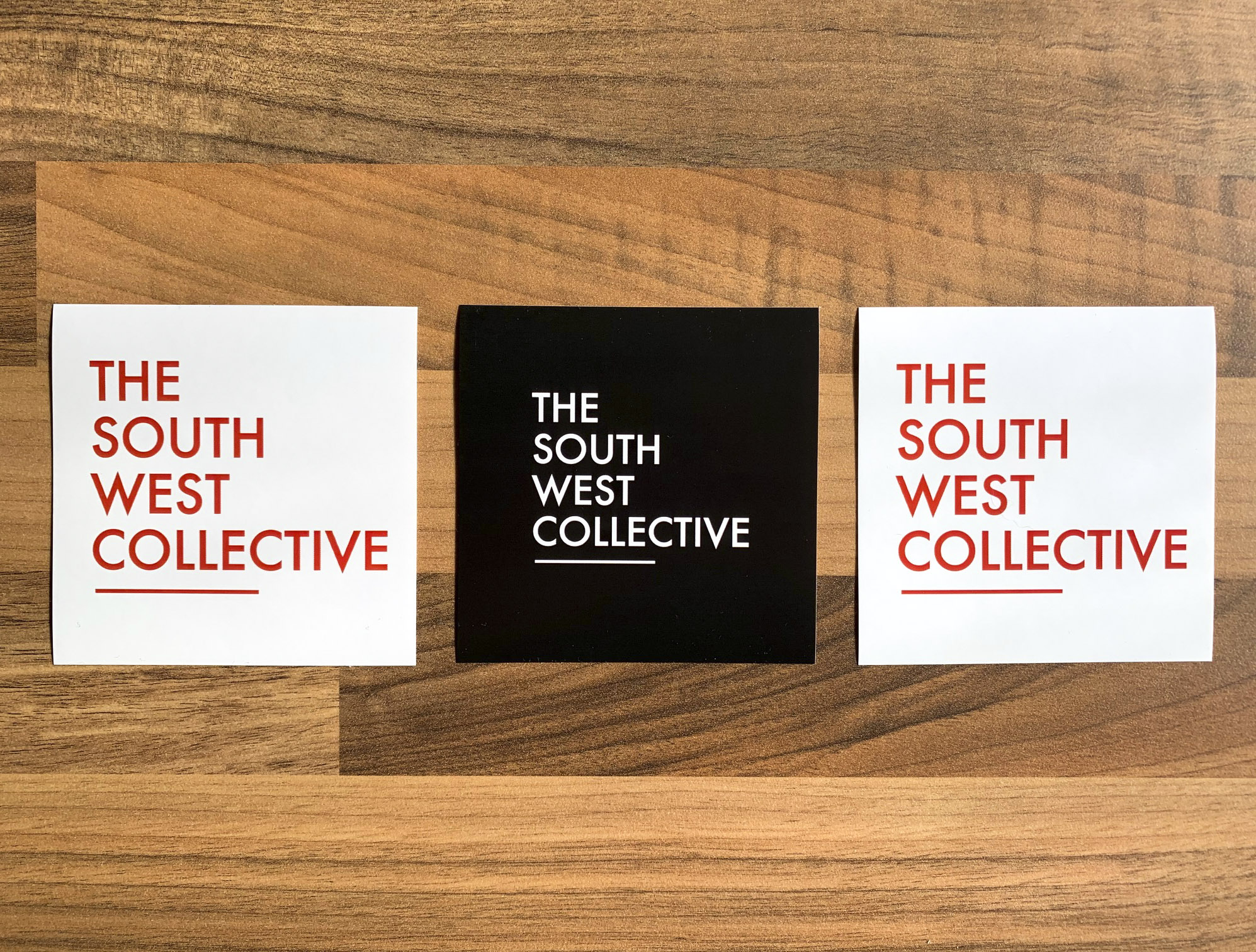 The South West Collective OG Sticker (White - 3 Pack) %%sep%% The South West Collective of Photography Ltd