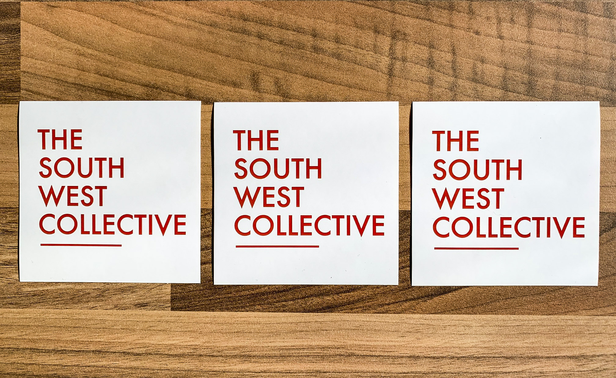 The South West Collective 2020 OG Logo Sticker (White 3 Pack) the south west collective of photography