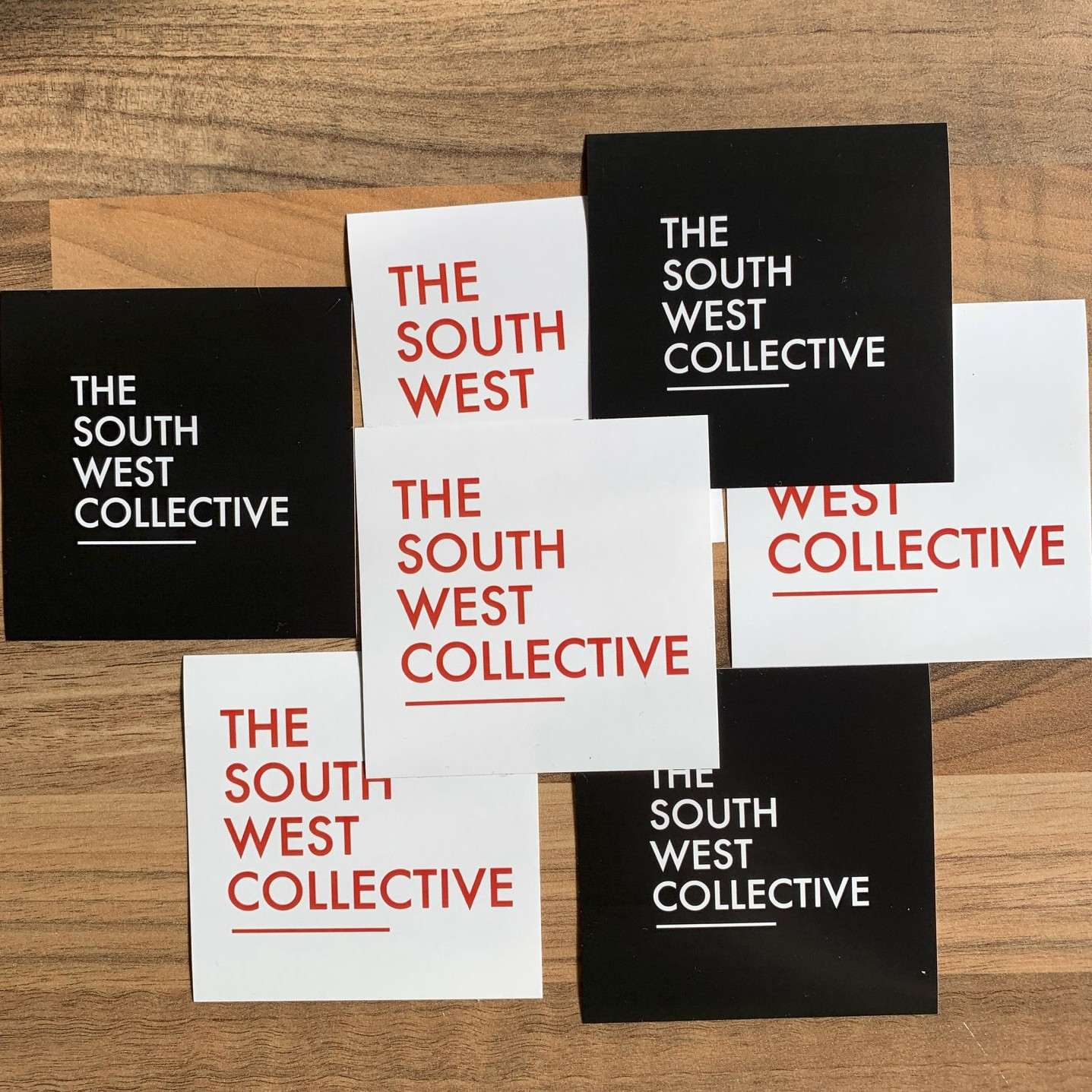 The South West Collective 2020 Sticker (Black & White Mixed 7 pack) the south west collective of photography ltd