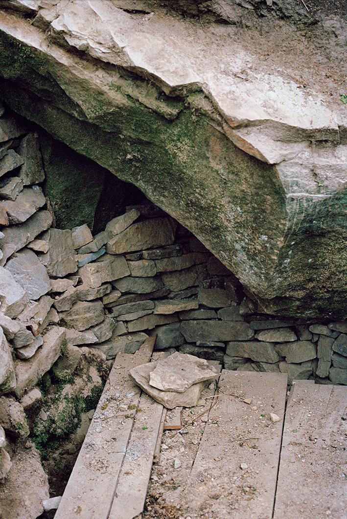 Philippa Klaiber - Vorest the south west collective of photography broken bricks on wooden floor