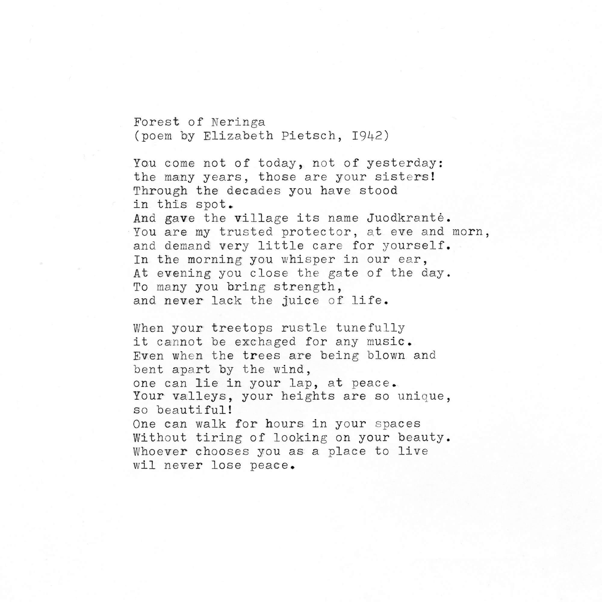 Tadas Kazakevicius - Between Two Shores poem