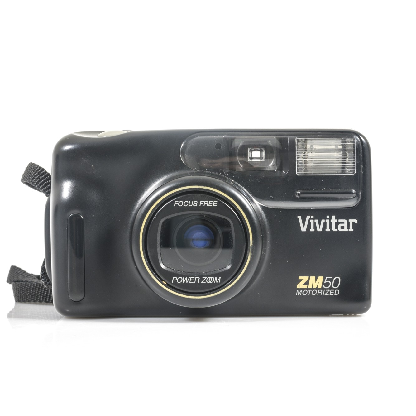 Vivitar Zm50 35mm Point & Shoot Film Camera With Leather Case the south west collective of photography
