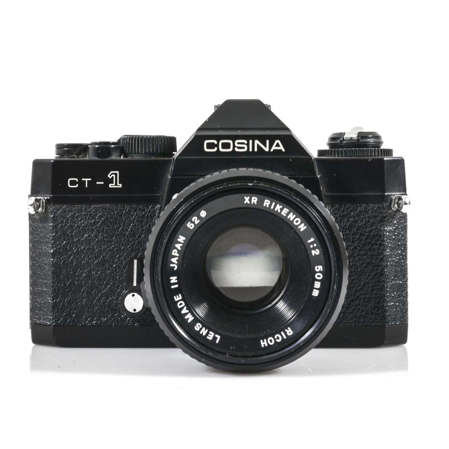 Fantastic Cosina CT-1 35mm Film Camera with an XR Rikenon F2 50mm Lens and a Cosnia 80-200mm F4.5 Lens the south west collective of photography