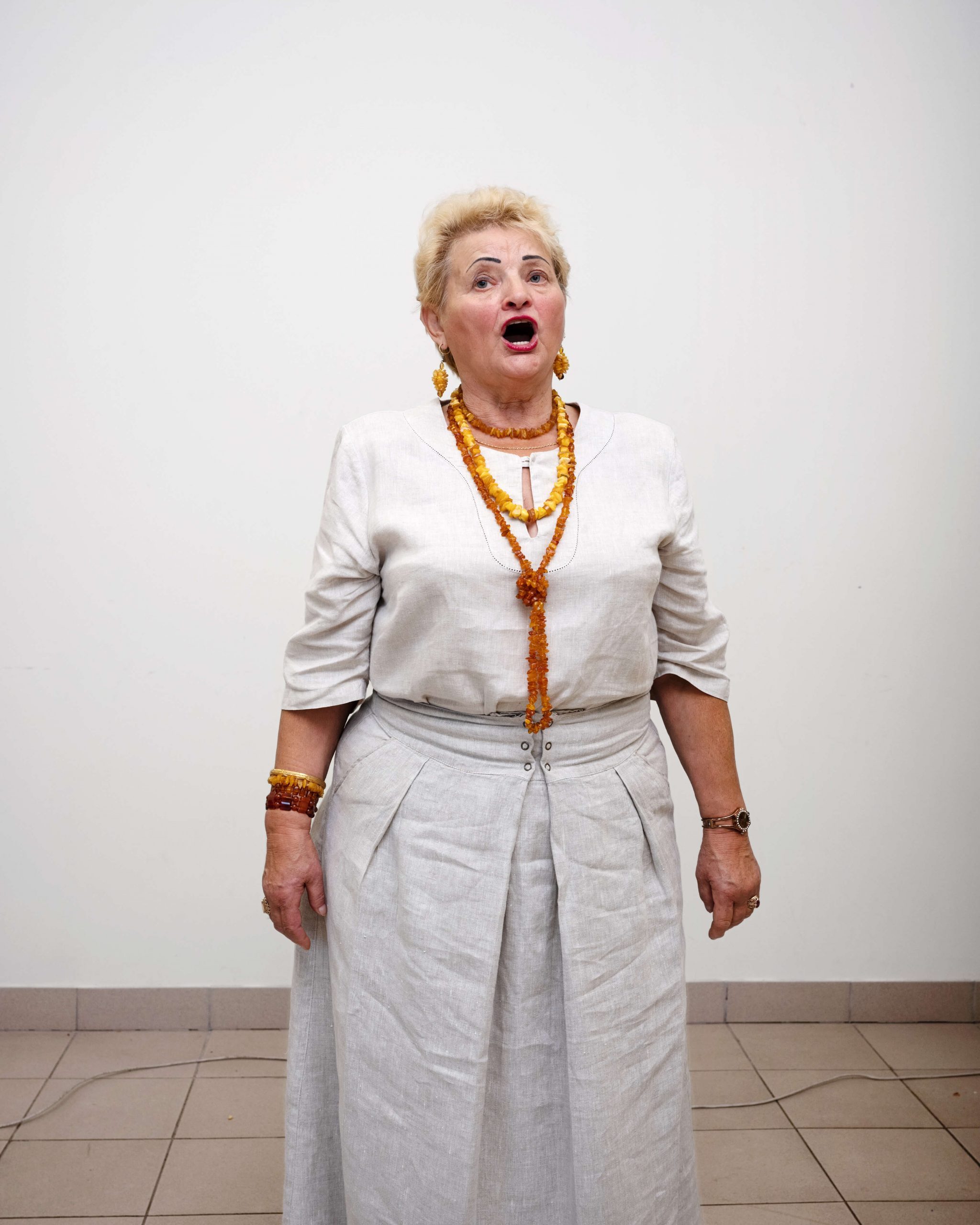 THE EUROPEANS -Arnold van Bruggen & Rob Hornstra the south west collective of photography ltd women in white singing