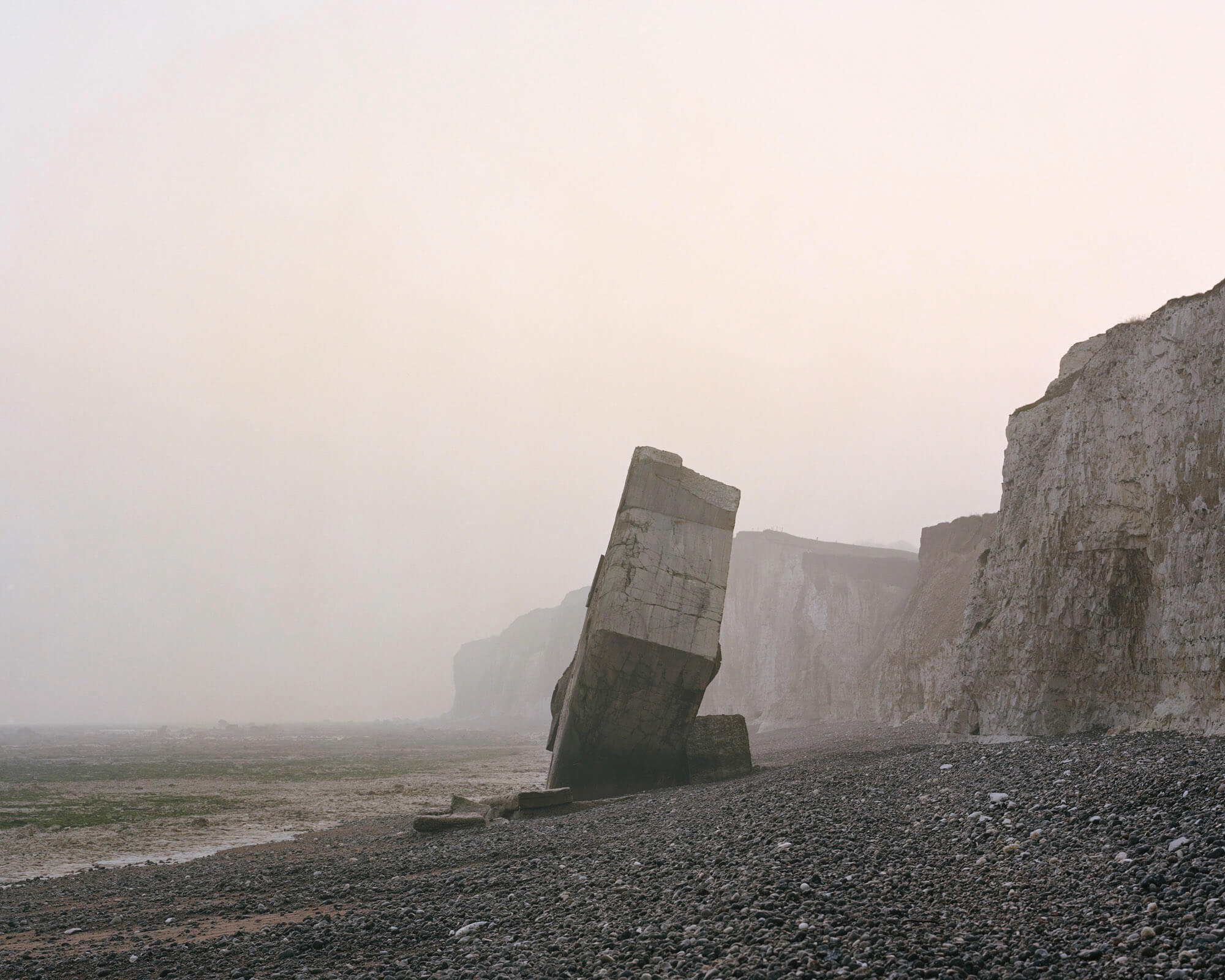 Sainte-Marguerite-sur-mer, Upper Normandy, France. 2012 Marc Wilson the last stand the south west collective of photography