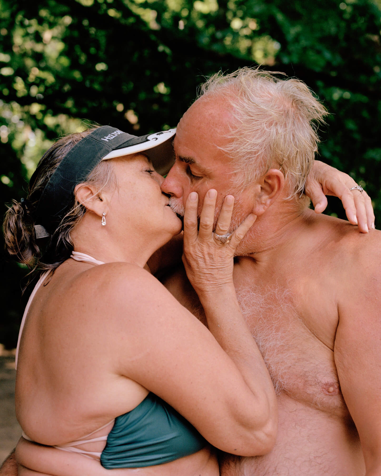 Caroline Tompkins Fantasy Body the south west collective of photography ltd old couple kissing