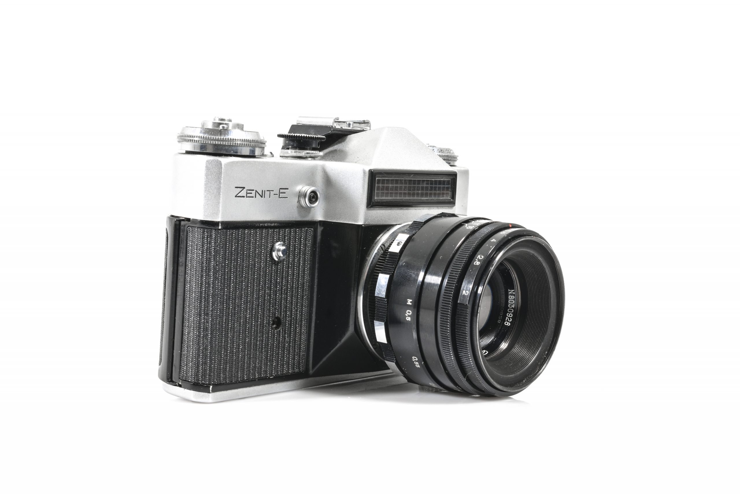 Lovely Zenit E 35mm Film Camera with Helios 44m 2/58 Lens (Excellent condition – Tested and Working)