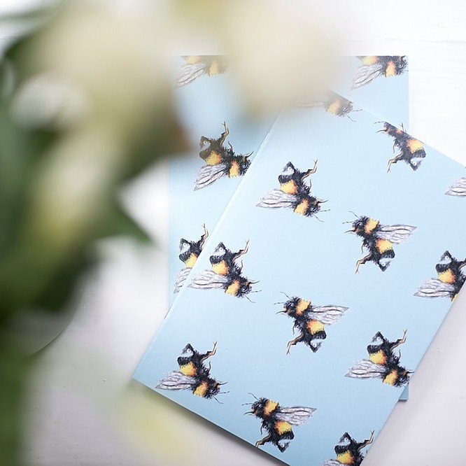 The Lucy Saunders Collection: Bee A5 Notebook