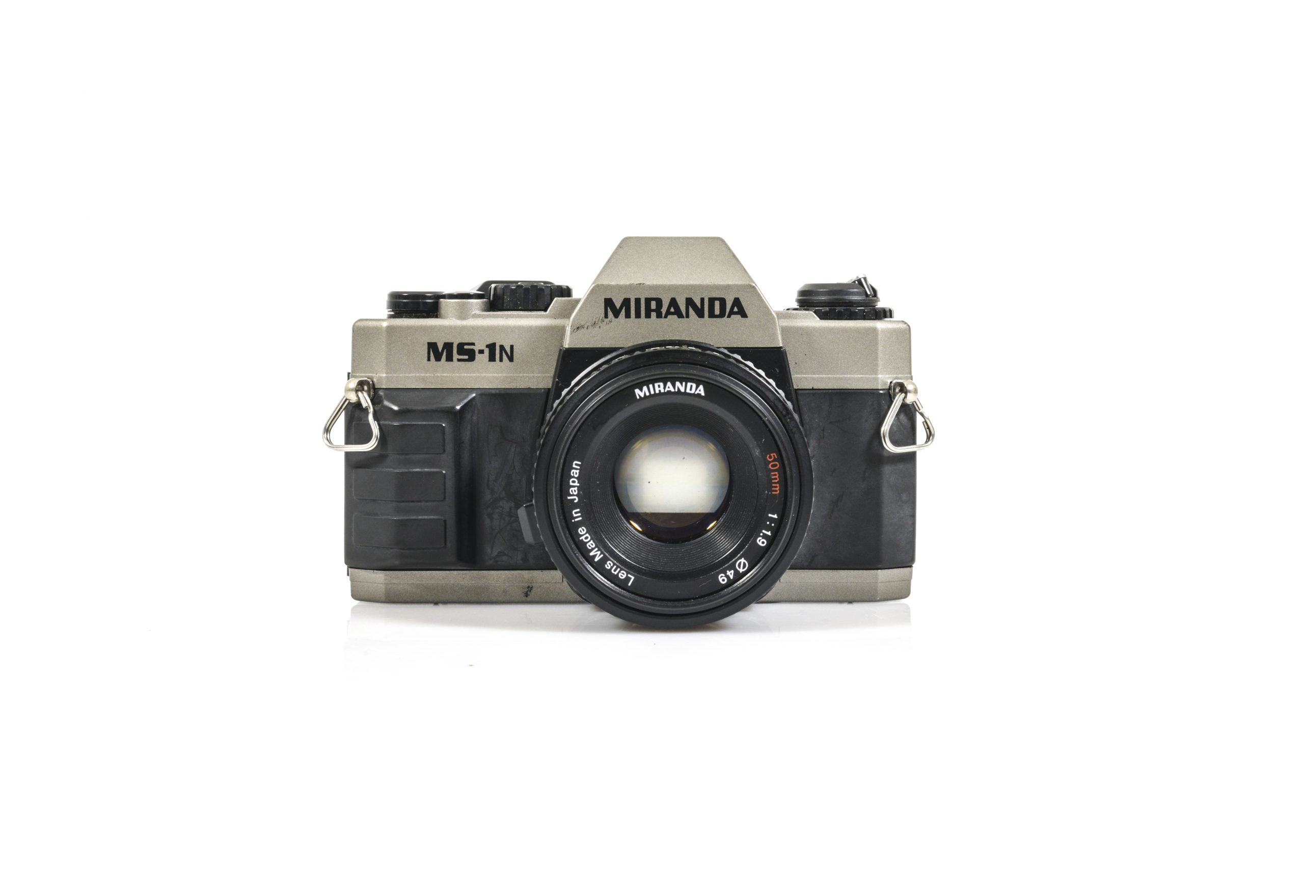 Lovely Miranda MS-1N 35mm Film Camera with Miranda 50mm 1:1.9 Lens