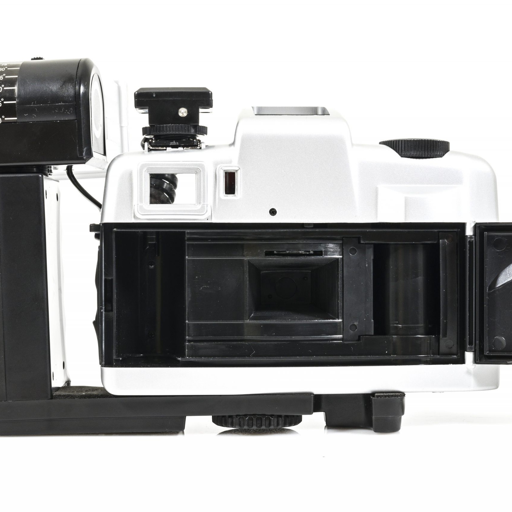 New Olympia DL2000A Point and Shoot 35mm Film Camera + Battery Grip and Flash and Bag