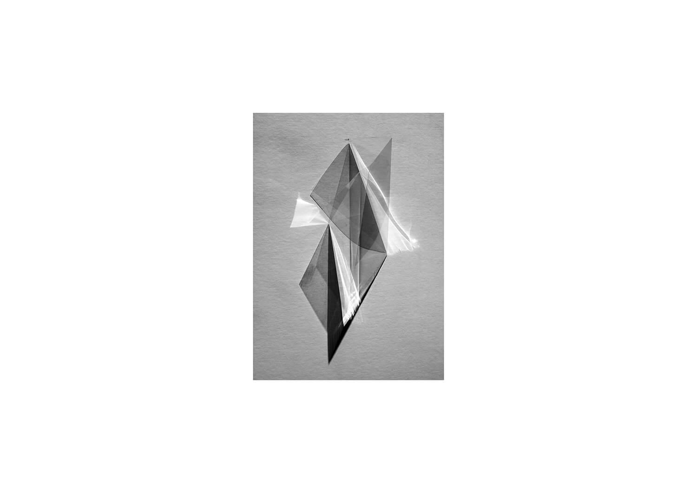 Lydia Shearsmith - The Edge of Nowhere angle of shapes on grey background