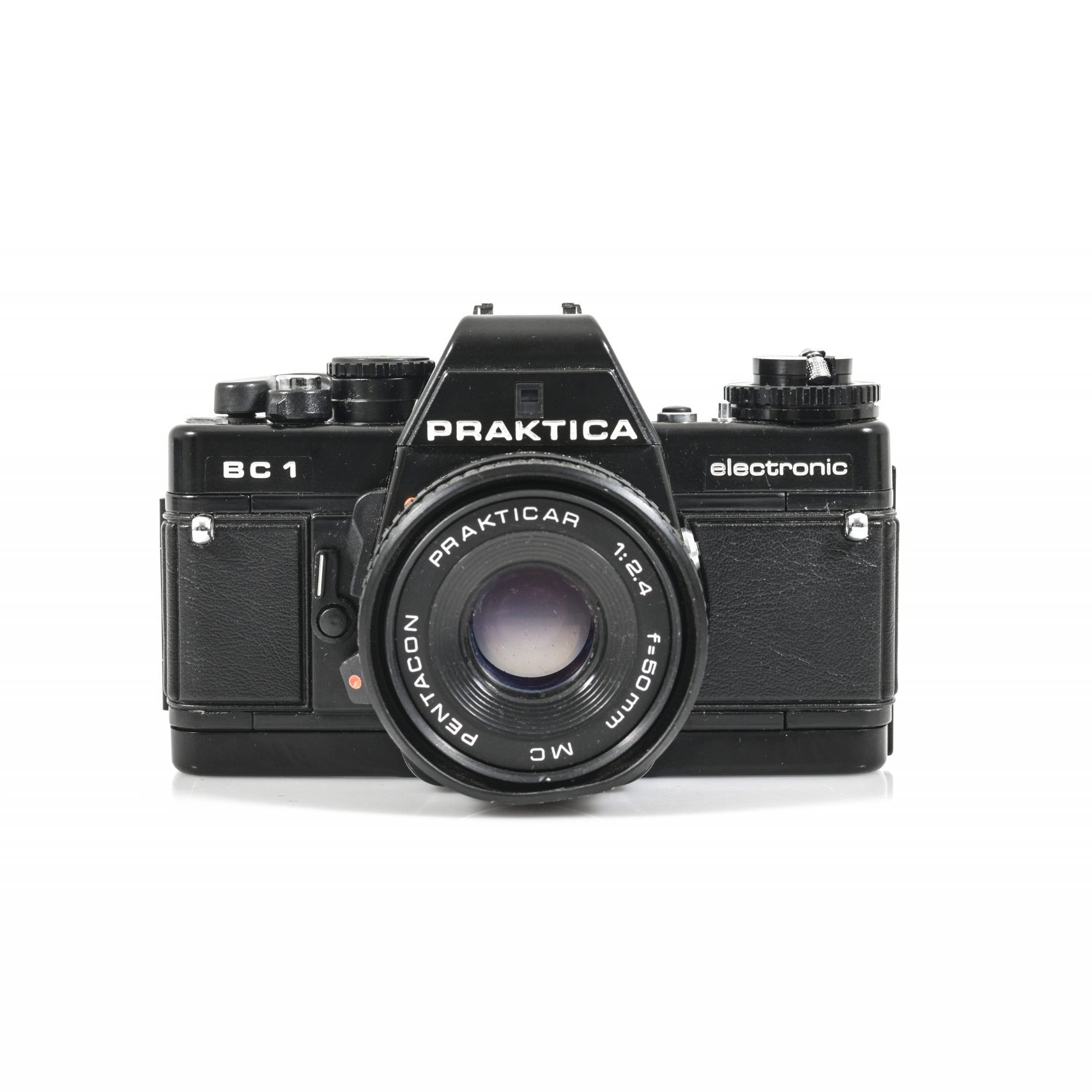 Gorgeous Praktica BC1 Electronic 35mm Film Camera + Prakticar F2.4 50mm Lens