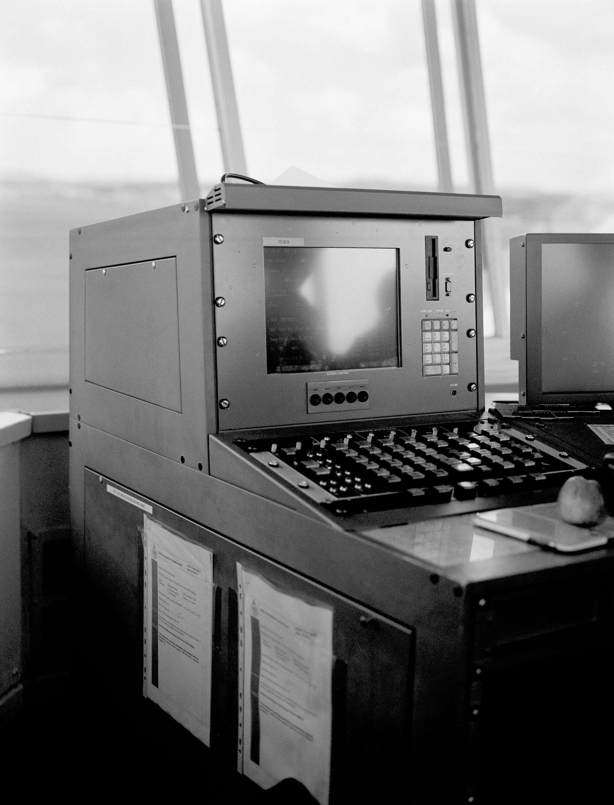 Rosie Dale - Ad Astra RAF control tower
