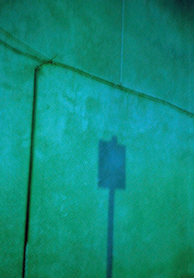 Tiana Ferguson - Fool Me Once, Fool You Twice. Green double exposure